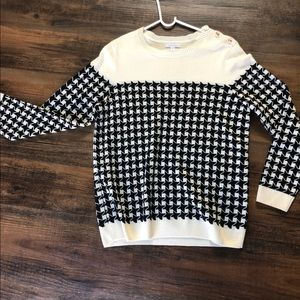 Charter Club Sweater - Checkered Print